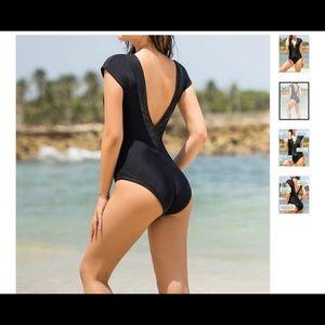 LEONISA Glamorous Plunging V Neck Line Slimming